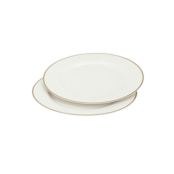 2 PCS ROUND UNDER A PLATE SET MALAKIT image number 0
