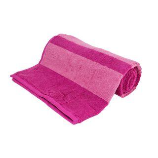 مشفة استحمام من القطن لون فوشي
