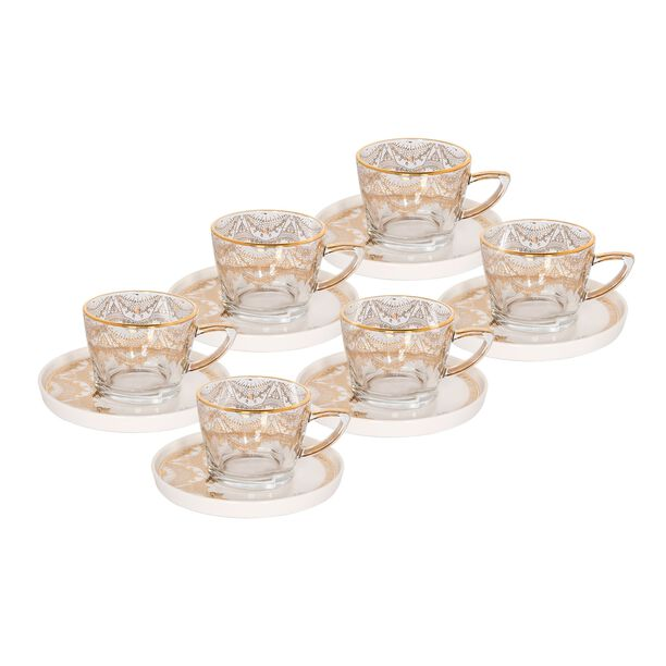 La Mesa Glass Tea Sup Set 6 Pieces image number 0