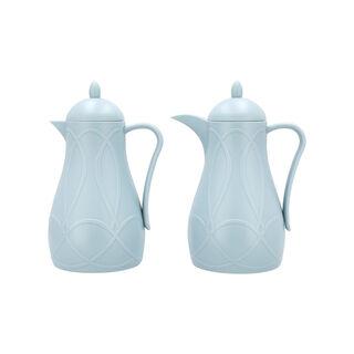 Plastic Vaccum flask Set
