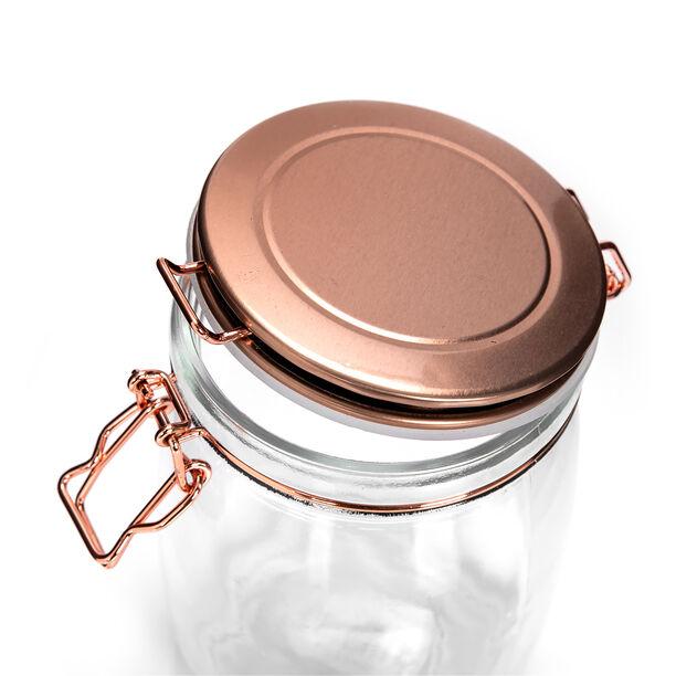 Alberto Glass Storage Jar With Metal Clip Lid 1700Ml image number 2