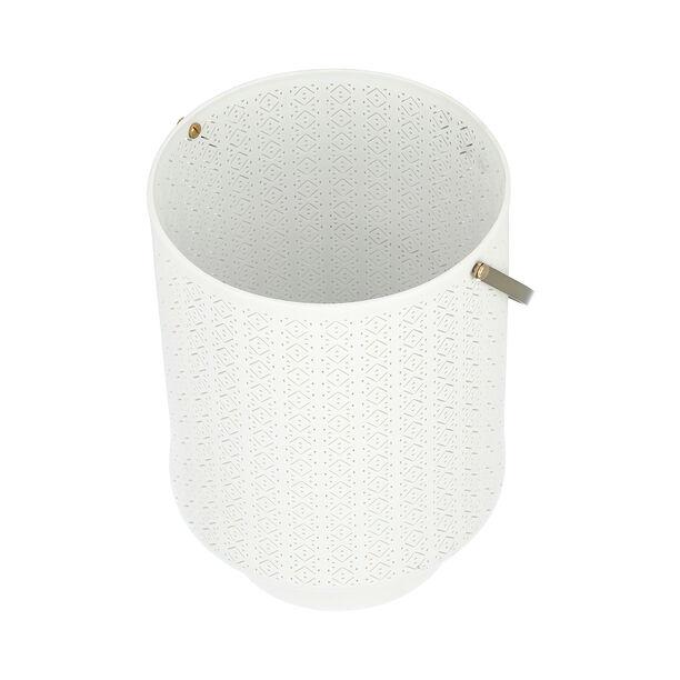 Porcelain Candle Holder White image number 2