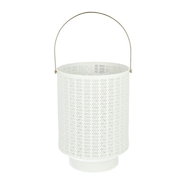 Porcelain Candle Holder White image number 0