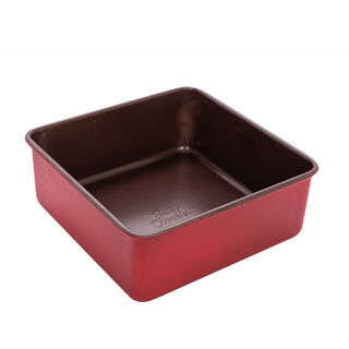 Betty Crocker Non Stick Square Pan Red