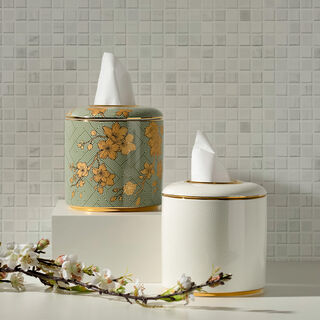 Tissue Box Harmony Gold Flower