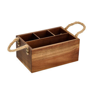 صندوق خشب لحمل أدوات المطبخ من البرتو