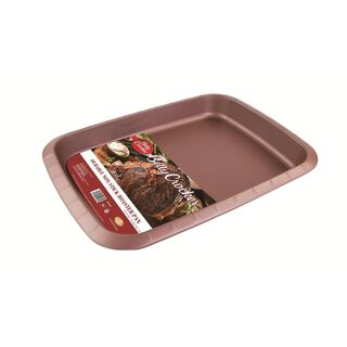 Betty Crocker Non Stick Rectangle Pan Rose Color