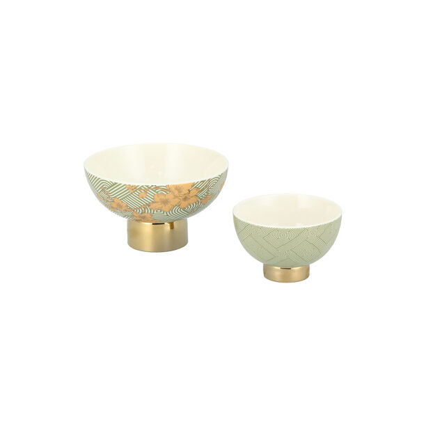 Date Bowl 2Pc Porcelain Harmony image number 1