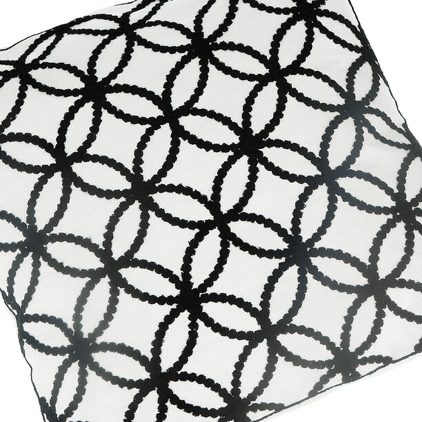 Embroidery Cushion Santorini Circles image number 2