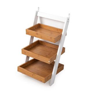3 Layers Wooden Shelf