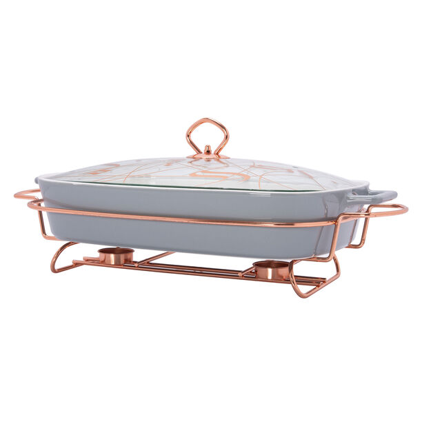 "Rectangle Food Warmer Sunbuli 17"" image number 2"