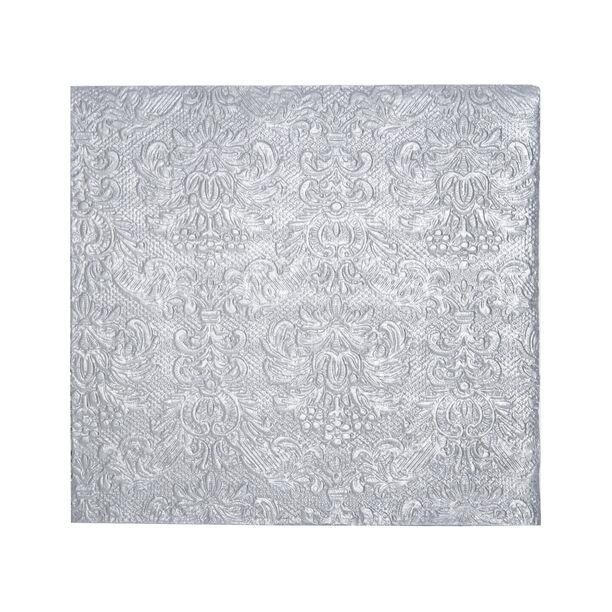 Elegance Serving Napkins Paper Square Silver image number 1