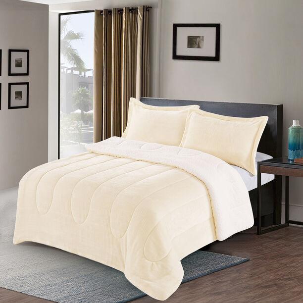 3 Pcs Twin Comforter Set image number 1