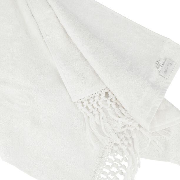 منشفة 50*90 سم لون أبيض image number 2