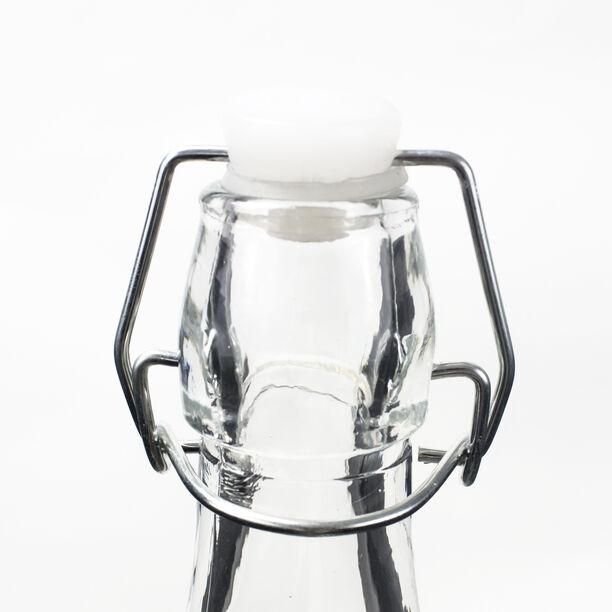 قارورة زجاجية بغطاء معدني  image number 1