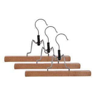 علاقة البنطلون 3 قطع خشبية