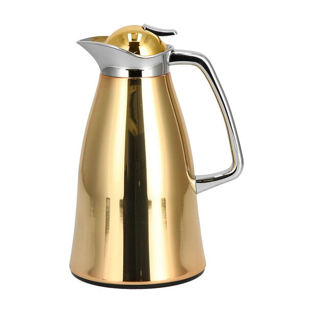 Vacuum Flask Beige And Gold 1L image number 0
