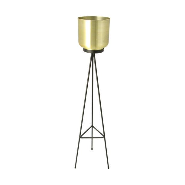 Metal Planter Gold  image number 0