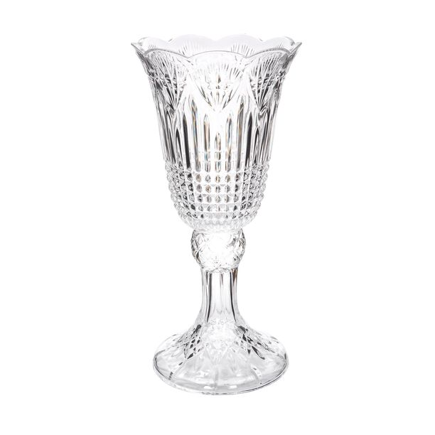 Glass Vase Clear image number 0