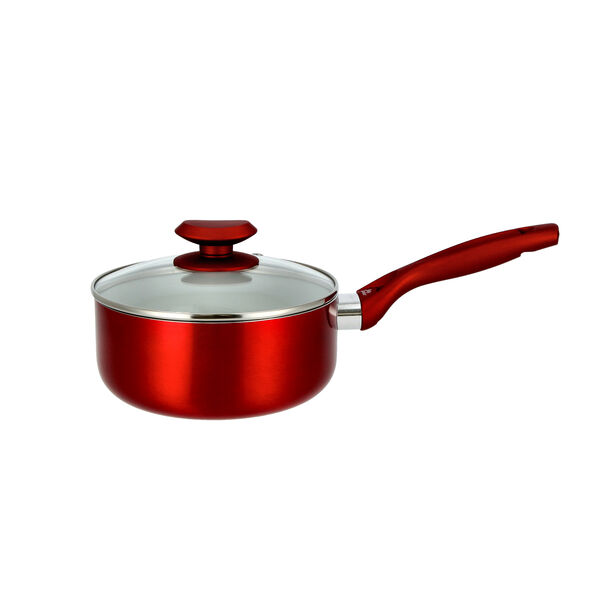 Non Stick Sauce Pan with Glass image number 1