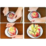 Alberto Stainless Steel Apple Corer / Divider image number 2