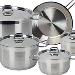 Alberto Stainless Steel Cookware Set 9 Pieces image number 1