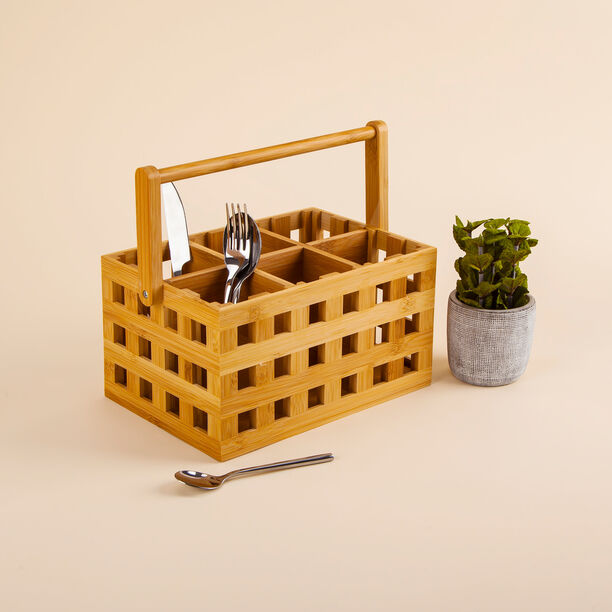 Bamboo Cutlery Box image number 0