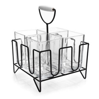 Alberto 4 Section Flatware Caddy With Stand