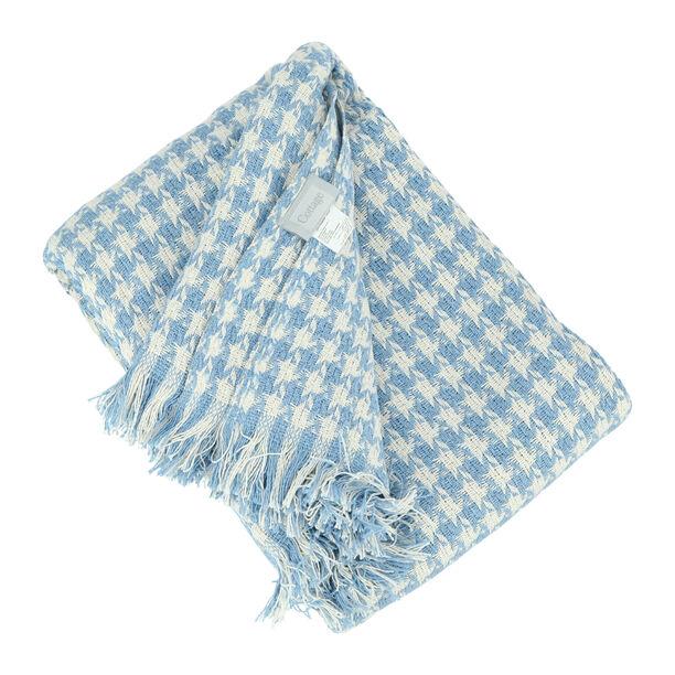 Cottage Cotton Throw 160X200Cm Blue image number 1