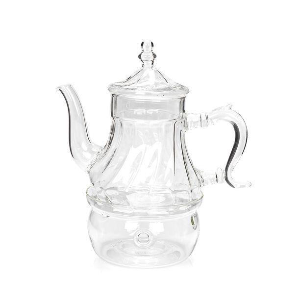 ابريق شاي زجاج مقاوم للحرارة 750مل image number 0