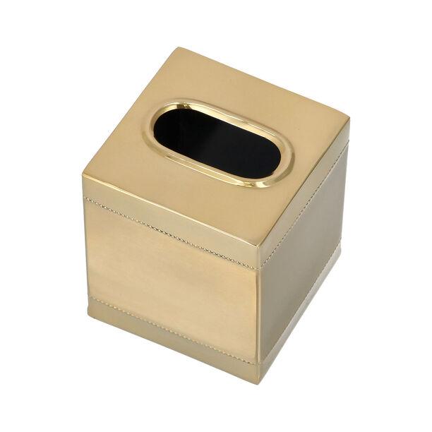 Crackle Bath Tissue Box Gold image number 2