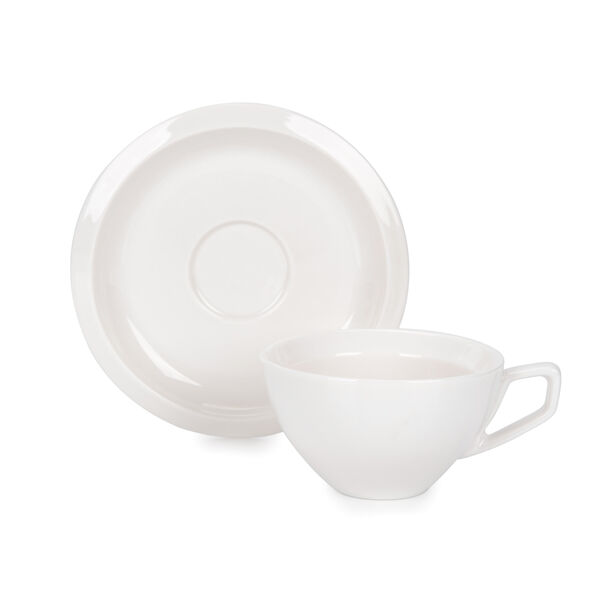 English Coffee Cups Set White 100 Ml image number 1