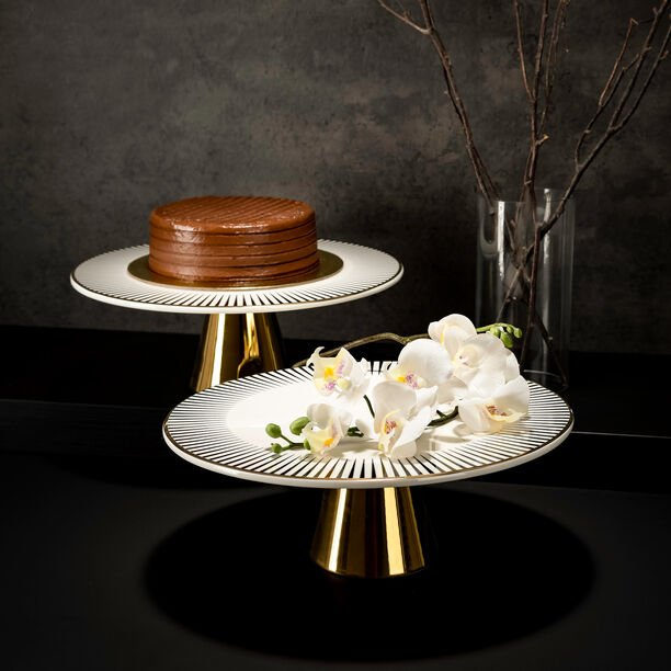FOOTED CAKE STAND image number 0