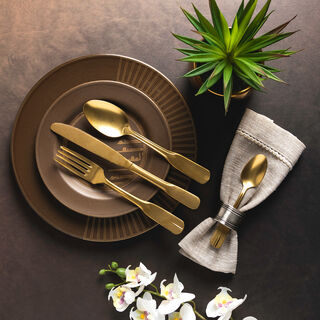 Anceint 16 Pcs Cutlery Set
