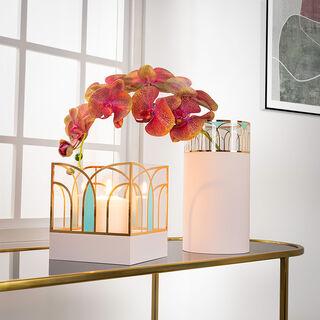 """Acrylic Vase """"Blush"""""""
