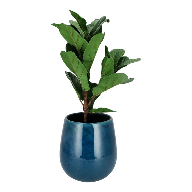 Ceramic Planter Blue image number 2