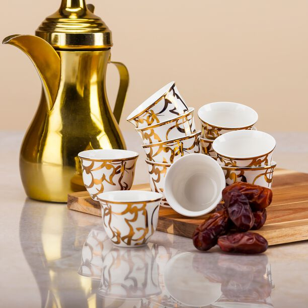 Kan Ya MakanCoffee Cup Set 12 Pieces 90Ml image number 1