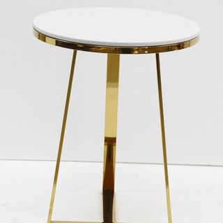 Side And Accent Table Marble