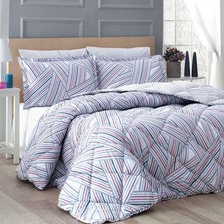 Cottage Comforter Set King Size 5 Pieces Porte