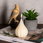 Pear Shape Candle Ivory Simply Vanilla Scent image number 1