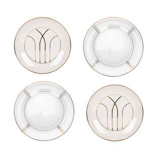 "Blush 4 Pcs Set 8"" Dessert Plate New Bone"