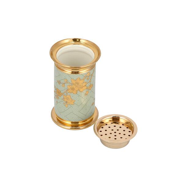 Oud Burner Harmony Gold Flower image number 2