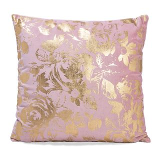Cuhsion Cotton Print Gold Foiled Print On Velvet 45X45 Cm