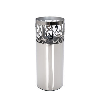 Steel Vase Hanna With Calligraphy Big