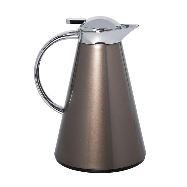 Dallety Steel Vacuum Flask Sahara Brown 1L image number 0