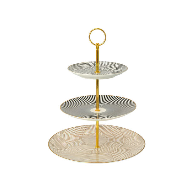 3 TIERS SERVING STAND image number 1