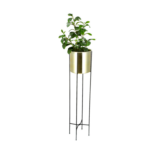 Planter Metal With Stand image number 1