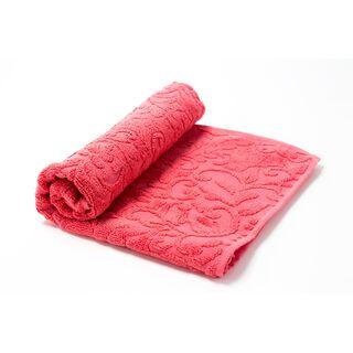 منشفة من القطن 50*90 سم لون احمر