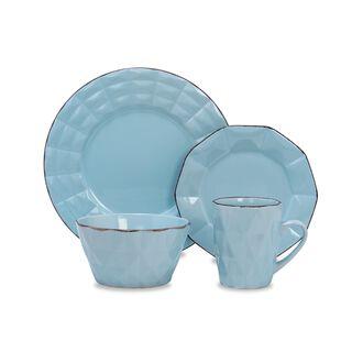 طقم مائدة أزرق من لا ميسا   16 قطعة