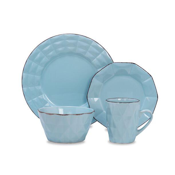 La Mesa Dinner Set 16 Pieces Blue image number 0